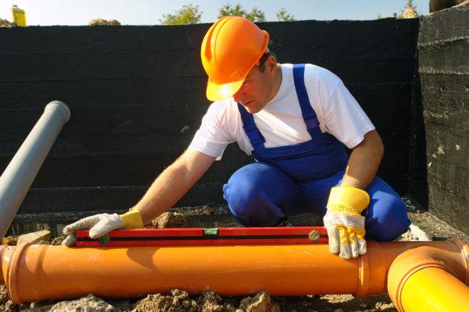 Устройство наружных сетей водопровода и канализации