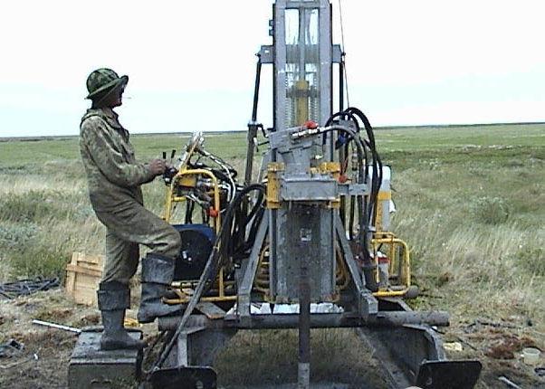Буровая установка для геологоразведки