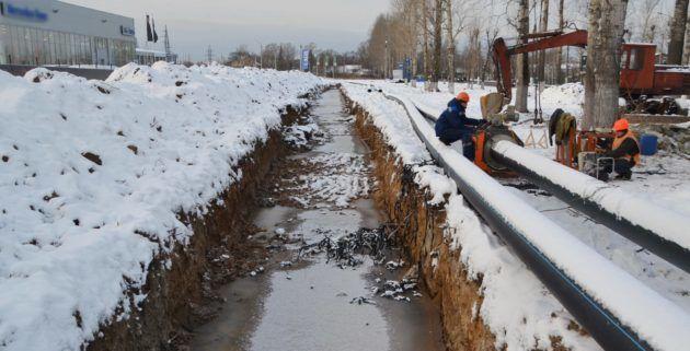 Изношенность канализационных сетей