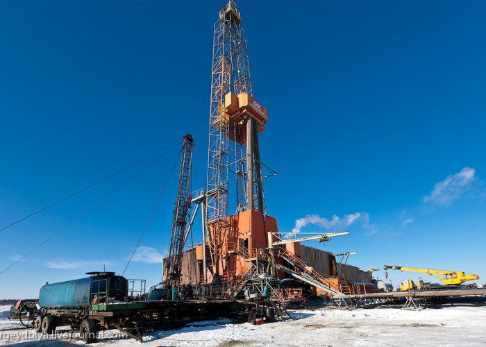 Нефтедобывающая буровая установка