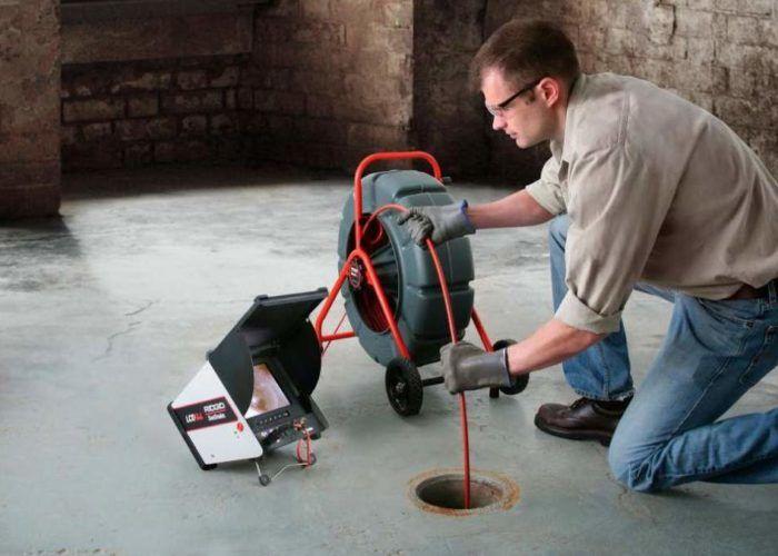 Видеоисследование систем канализации,