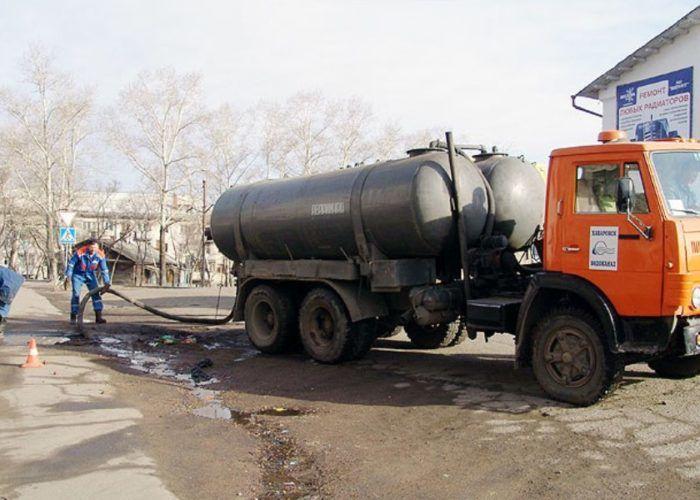 Выполнение аварийной откачки канализационных систем