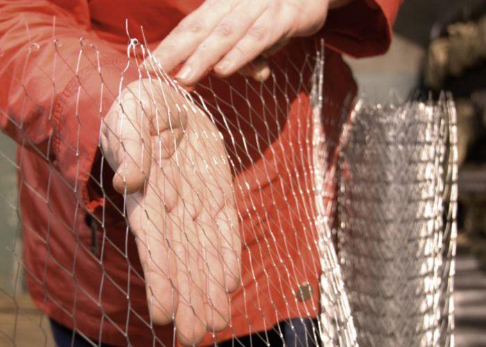 Армирующая металлическая сетка