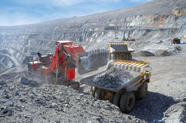 Добыча никеля открытым способом