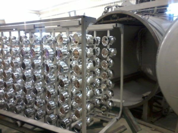 Изделия после вакуумной металлизации