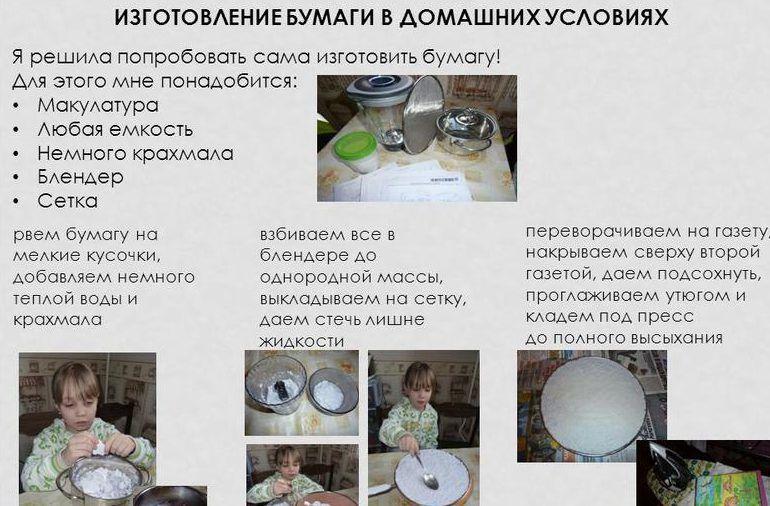 Изготовление бумаги из макулатуры своими руками прием макулатуры в марий-эл
