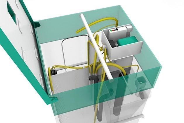 Каждая из камер в конструкциях Юнилос Астра 5, 8 и 3 имеет своё функциональное назначение