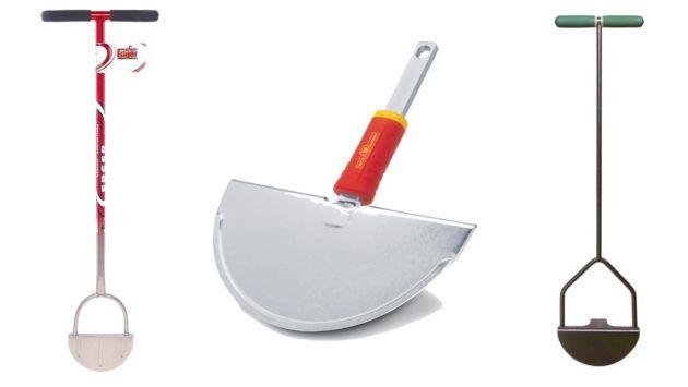 Лопата в виде полумесяца