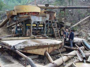 Машины для добычи золота