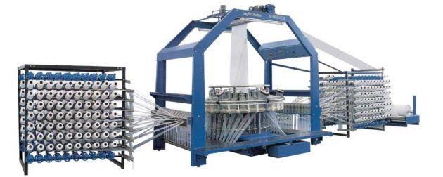 Намоточный аппарат для полипропиленовых мешков