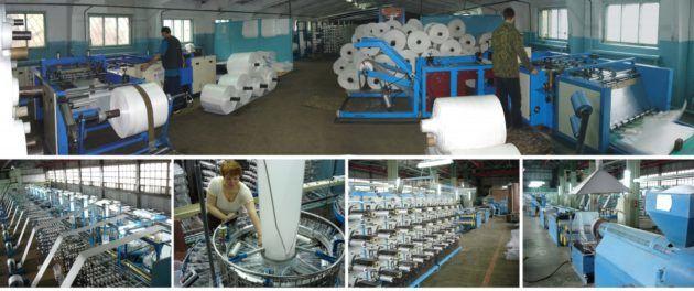 Оборудование для производства полипропиленовых мешков