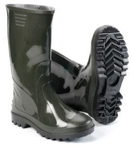 Обувь из ПВХ