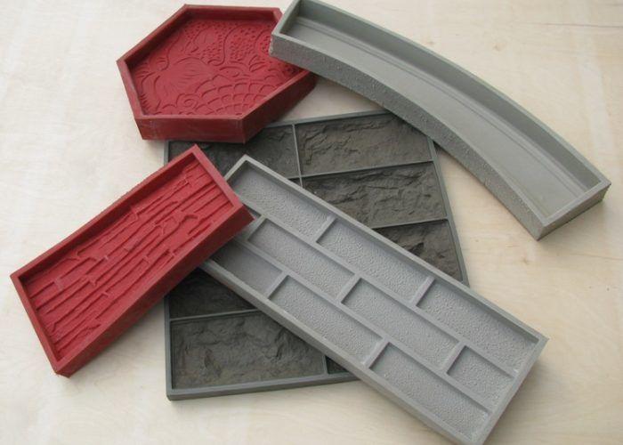 Пластиковые формы для отливки камня