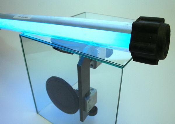 Применение ультрфиолетовой лампы для сушки аргостекла