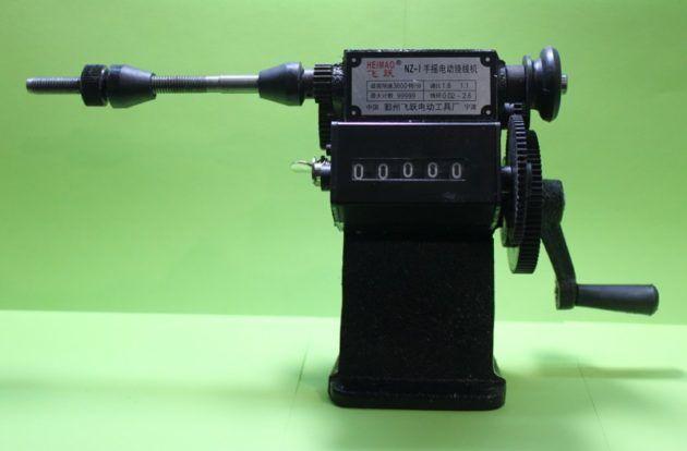 Ручной намоточный станок с механическим счетчиком оборотов