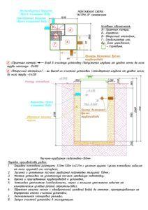 Схема установки септика Юнилос