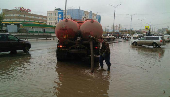 Аварийное откачивание вод