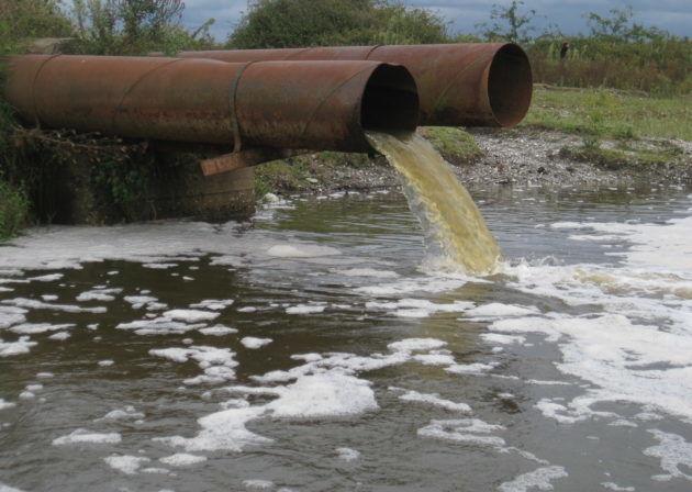 Неочищенные сточные воды