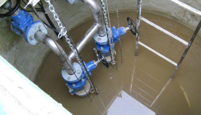 Очистка канализационно-насосных станций