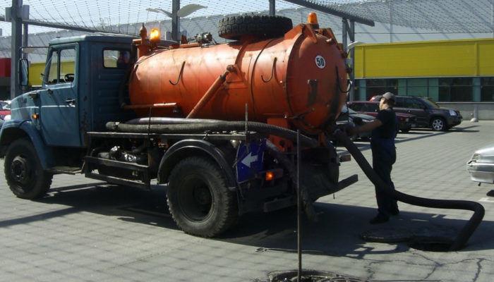 Откачка и вывоз жидких бытовых отходов