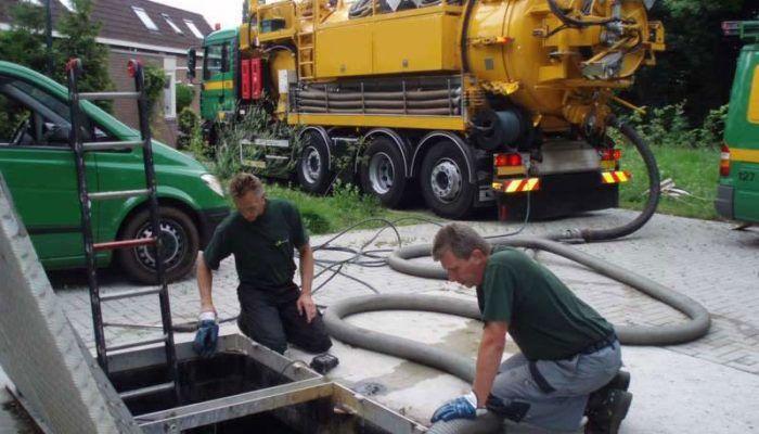 Откачка отстойников канализационных насосных станций