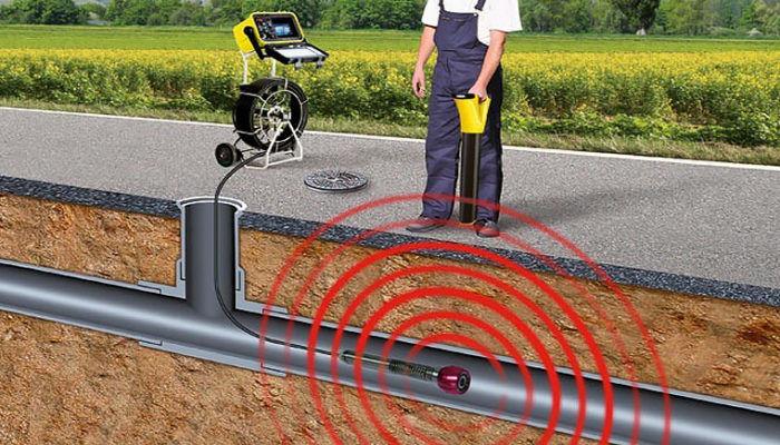 Телеинспекция труб канализации