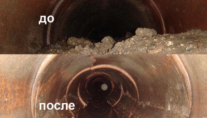 Устранение засоров промышленной канализации