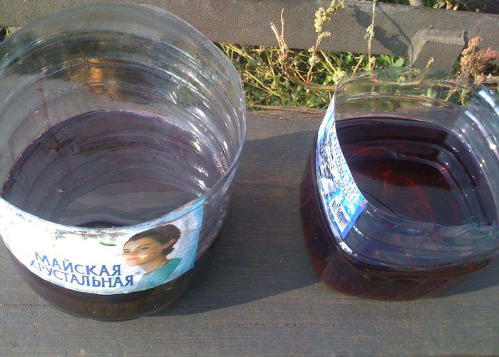 2 ёмкости для воды и масла