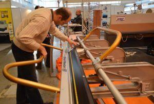 Листогибы Van Mark не нуждаются в настройках, так как производители этих станков настраивают их на производстве