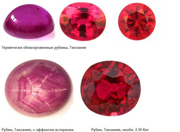 Рубины Танзании