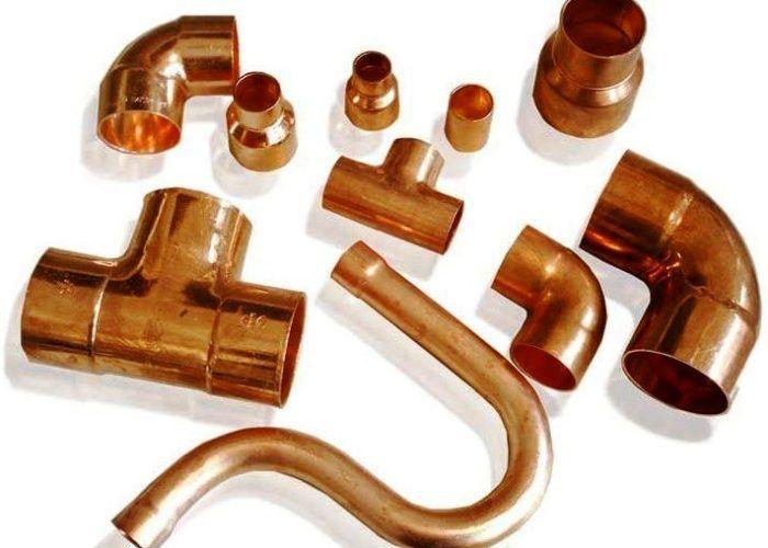 Уголки для медных труб