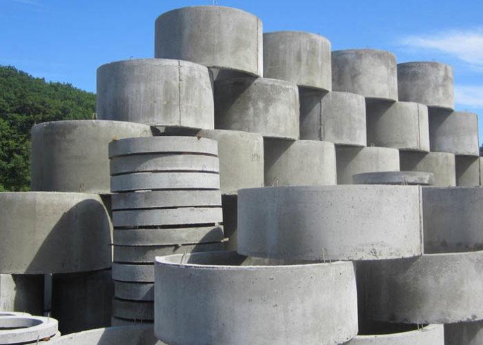 Железобетонные кольца промышленного изготовления