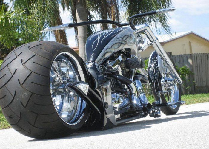 Хромирование деталей мотоцикла