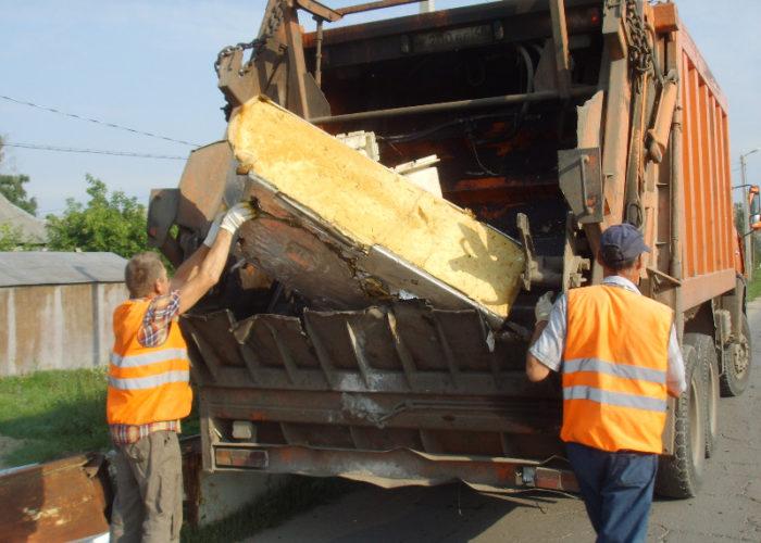 Вывоз мусора крупных размеров