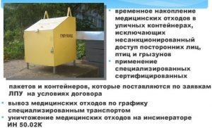 Вывоз медицинских отходов
