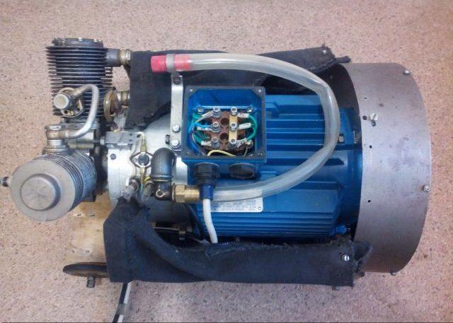 Электрический мотор мощностью до 1 кВт