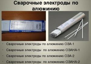 Электроды ОЗАНА