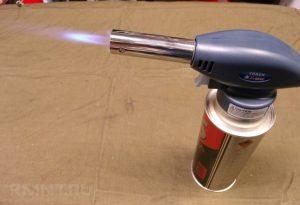 Газовая горелка для нагрева алюминия