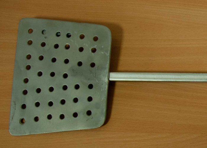Ложка для удаления шлака из расплава