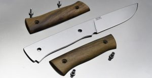 Рукоятка из дерева для ножа