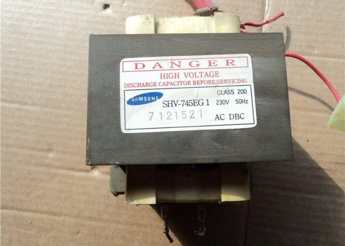 Трансформатор от старой микроволновки