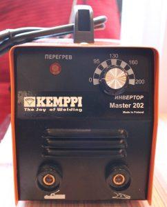 Торцевая панель сварочного аппарата Kemppo Master 202
