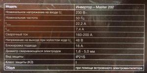 Технические характеристики Kemppo Master 202